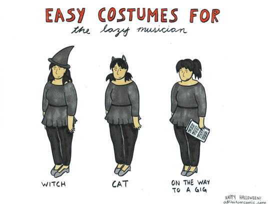 Easy Costumes for the Lazy Musician