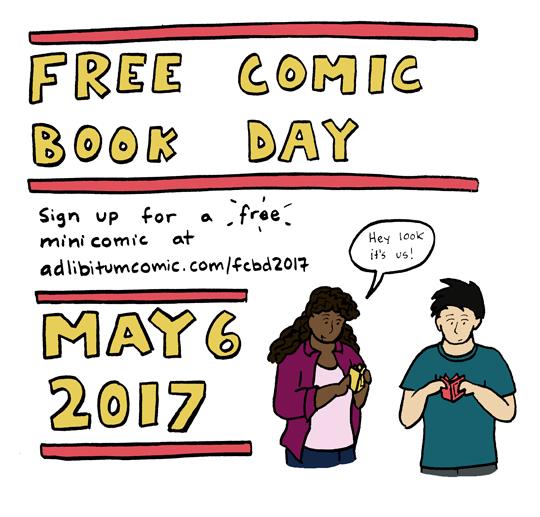 Free Comic Book Day 2017!